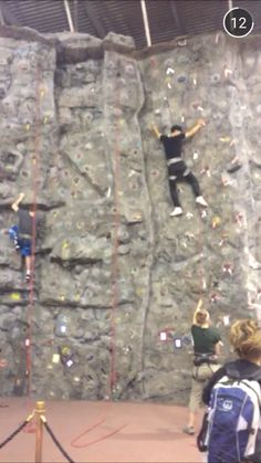 Hop on over to the PEIF for some rock climbing! Free for rec members, or $10 for a day pass.