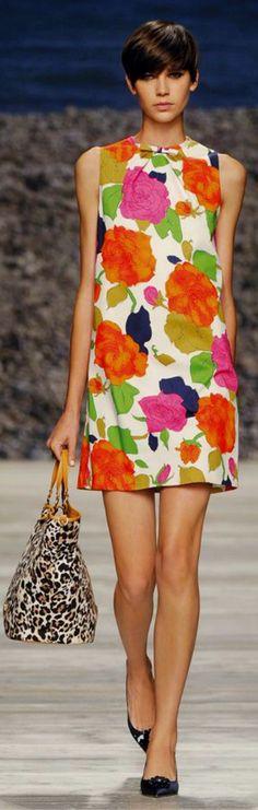 Swinging Roses Dress