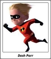 Dash Parr / Los Increíbles / The Incredibles / Pixar / Brad Bird / 2004