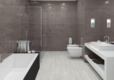 Pukkila Board Dark Gray Background Tile, E Design, Dark Grey, Toilet, Bathtub, Boards, Bathroom, Color, Graphics