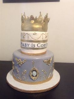 Game of thrones baby shower cake