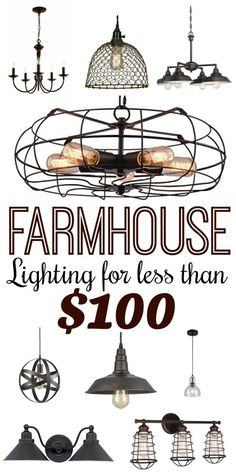 Make Your Home Shine With These Industrial Farmhouse Design Tips It may be that you have never done much with your personal living space because you feel you do not know enough about interior design. Primitive Decorating Country, Farmhouse Style Furniture, Modern Farmhouse Style, Primitive Bathrooms, Lighting, Country Interior Design, Interior Design Rustic, Farmhouse Style Lighting, Warm Industrial