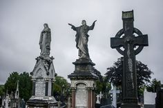 Grave yard at Glasnevin cemetery