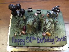 Christi's 50th Birthday Cake