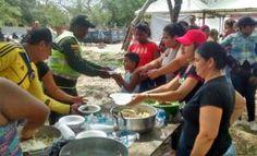 El trabajo conjunto de Policia y comunidad ayudo a embellecer la ciudad