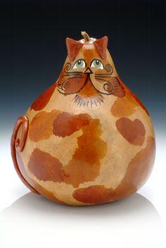 Olde Century Cat Gourd