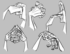 """Toby Shelton:  I've Got To Hand It To You -   tobyshelton.blogspot.com       Put your hands together, people! Take it to the next level by making your hands interact. Hope this little exercise helps you to get a """"grip"""" on drawing hands."""
