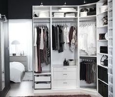 Luxury Closet organizer Corner Unit