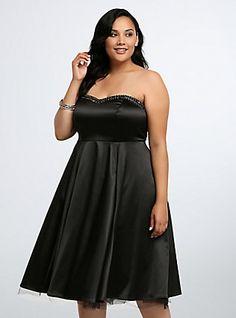 Strapless Midi Ball Gown | Torrid Plus Size | #TorridInsider