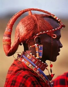 Maasai+Warriors+Hair | Maasai Warrior