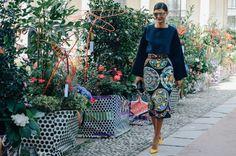On The Street | O melhor do street style da Paris Fashion Week Spring 2015 [Style]