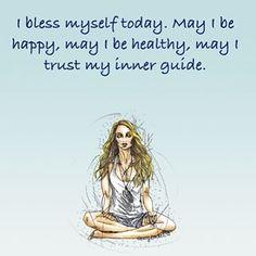 Give yourself a blessing. #spiritjunkieapp #spiritjunkie
