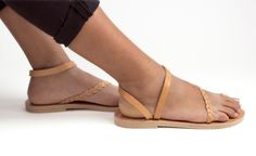 Greek sandals, Toering Handbraided Leather Sandals, Women sandals, Handmade sandals. Sandals for women