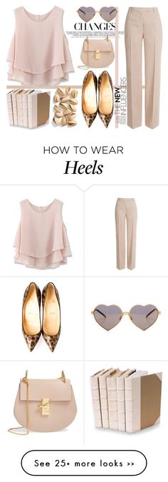 """""""Ordinary day in louboutin heels..."""" by nerma10 on Polyvore"""