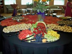Wedding Reception Food Table Setups | Reception Table Share