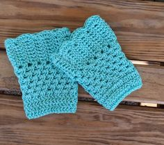 A personal favorite from my Etsy shop https://www.etsy.com/listing/269125781/crochet-boot-cuffs-boot-cuffs-boot