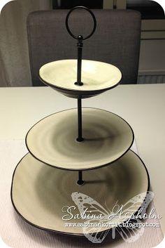 {3 tier serving platter}