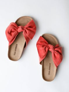 Ulla Johnson - Ingrid Slide - Coral Suede