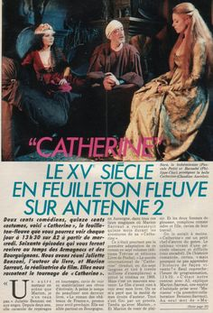 """Claudine Ancelot - """"Catherine"""" (1986) - 60 Episodes Image Film, Films, Movies, 1980s, Tv Shows, Costumes, Movie Posters, French Actress, Dress Up Clothes"""