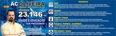 Candidato a Vereador de Campinas AC Oliveira 23146 - PPS