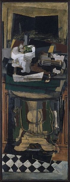 Guitar and Still Life on a Guéridon, 1922. Georges Braque.