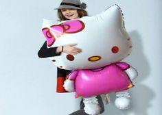 NEW Hello Kitty, Cat Foil Balloons-Cartoon Birthday, Wedding Decoration, Globos, #HelloKitty #PartySupplies