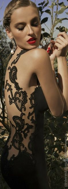 Galia Lahav Moonstruck 2014 Collection | Dress Detail♥✤