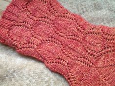 Ravelry: Medallion Lace Socks pattern by Andrea Fox