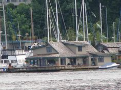 Sleepless in Seattle boathouse.  Address LED lives in Seattle too.  www.addressled.com