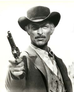 Lee Van Cleef in The Good The Bad and the Ugly
