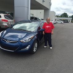 """They quote you a price and stay with it. Fast and easy service. Outgoing personnel, I would come back and buy again!"" Thank you Sally Bledsoe, we're happy to hear your salesman Billy Atshan helped make your experience so great! We hope you are enjoying your brand new 2015 Hyundai Elantra and please, if there's anything we can do, don't hesitate to ask.. We're here to help! #LakelandAutomall #LakelandHyundai #HyundaiElantra #2015Elantra #Elantra #Hyundai"