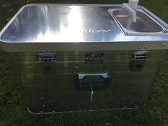 "Campingbox ""Starter 4x4"" - campingmoebel-4x4s Webseite! Truck Cap Camper, Diy Camper Trailer, Truck Caps, Tent Camping, Outdoor Camping, Auto Camping, Land Rover Defender Camping, Aluminium Box, 4x4"