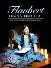 Flaubert : Lettres à Louise Colet Théâtre de Nesle - grande salle Affiche