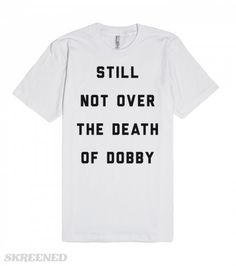 Still Not Over The Death of Dobby | Still not over the death of Dobby. It has…