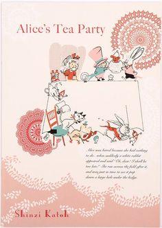Shinzi Katoh Alice in Wonderland fairy tale notebook exercise book