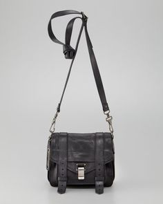 PS1 Shoulder Pouch, Black by Proenza Schouler at Bergdorf Goodman.