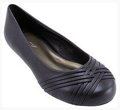 Enimay Women's Ballet Flats Girls Weave Slip On Shoes Comfortable Light Footwear Brown 9 (*Partner Link)