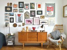 Un #apartamento decorado con un encantador estilo #vintage