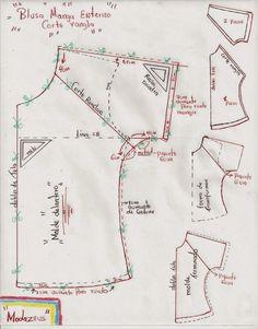 modazeus: blusa manga rangla