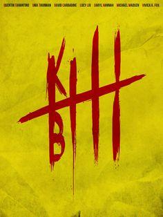 Kill Bill Poster by Guillaume Vasseur