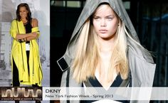 DKNY Spring 2013 collection #BelleMonde #Fashion #NewYorkFashionWeek