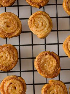 Cinnamon Sugar Pastry Wheels recipe