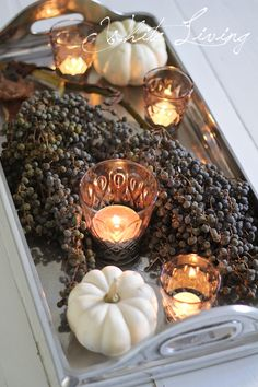 White Living: autumn decoration