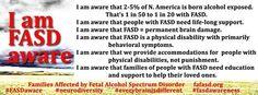 2014 FASD Awareness message from FAFASD.org