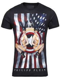 Philipp Plein Men's T-shirt | Black | Save 23% | Printed tees