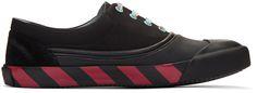 LANVIN Black Canvas Oxford Sneakers. #lanvin #shoes #sneakers