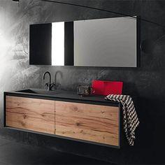 Meuble salle de bain JANEM en teck 120 cm