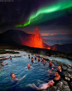 Tudo é possível na Islândia.