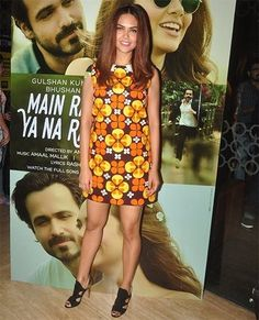 Esha Gupta at Main Rahoon Ya Na Rahoon song launch