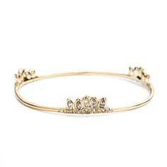 Jagged Marquis Skinny Cluster Bangle   Alexis Bittar